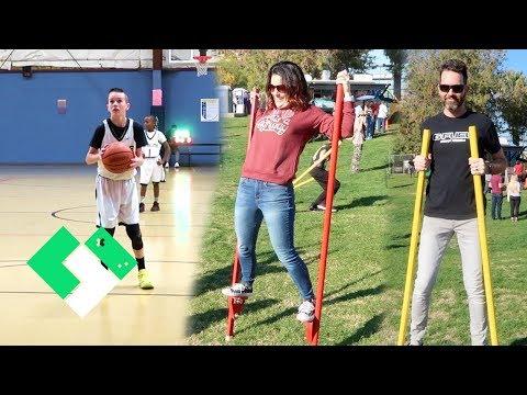 Basketball And Circus Acts | Clintus.tv