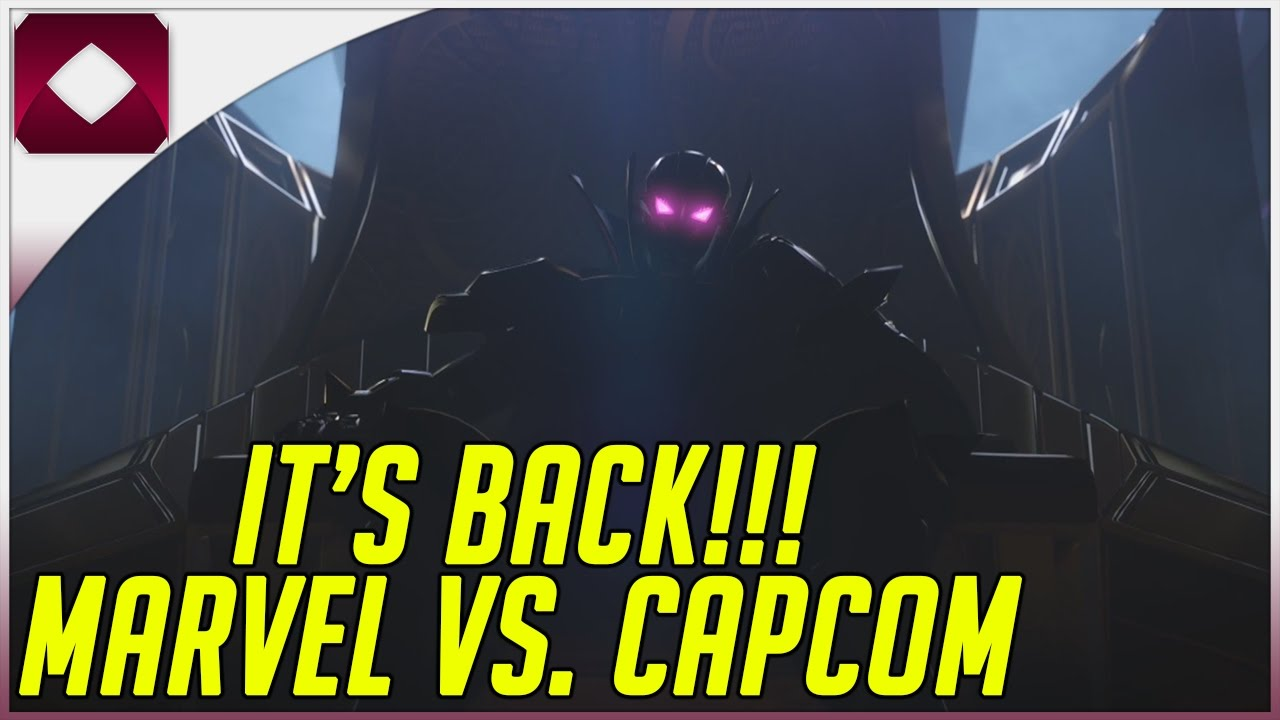 2ff9843141a MVC IS BACK  MAHVEL BABY - REACTION TO MARVEL VS CAPCOM INFINITE - YouTube
