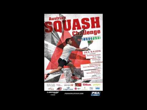 ORF Radio Salzburg 26 3 2016 LIVE Austrian Squash Challenge 2016