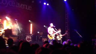 Boyce Avenue - Fix you (Live) O2 Academy
