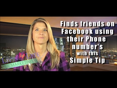 Find Friends on Facebook using their phone number from YouTube · Duration:  3 minutes 44 seconds