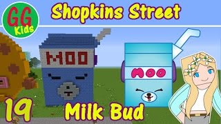 Milk Bud (19) - Shopkins Street - How to build a Shopkins in Minecraft