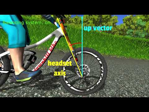 MTB Game bike balancing system explained