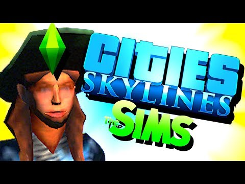 Cities Skylines but it's like the Sims 4 |