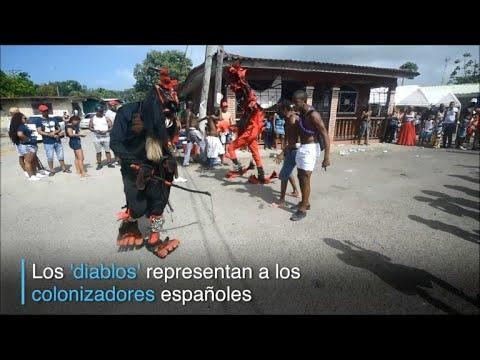 Panama celebra el carnaval de los 'diablos y congos'