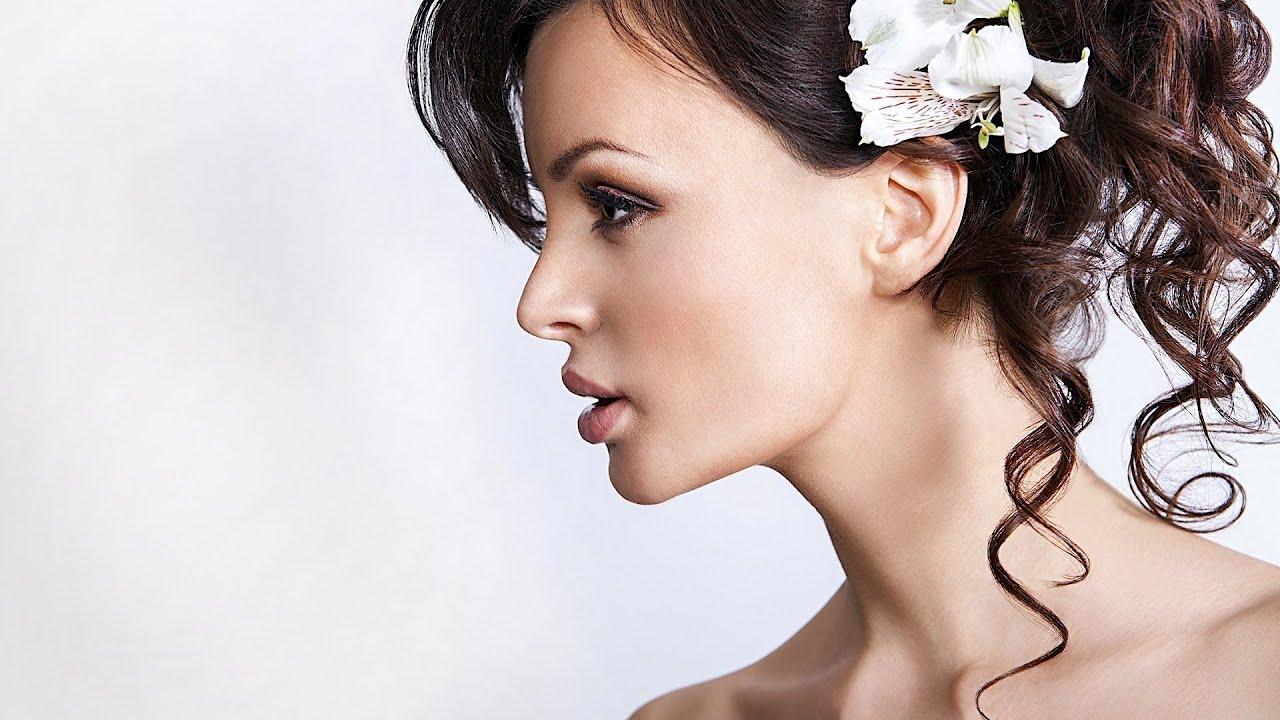 5 Ideas for Medium-Length Hair | Wedding Hair - YouTube
