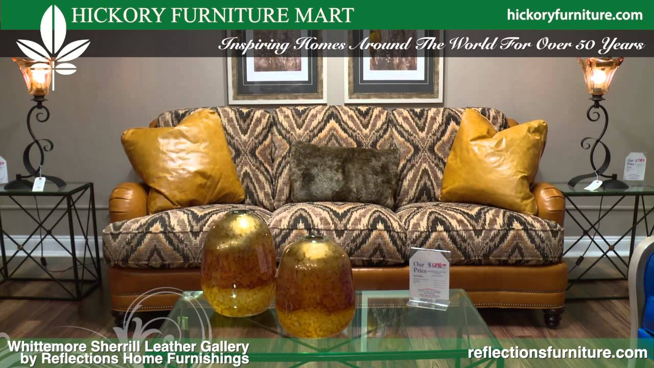 Whittemore Sherrill Leather Gallery By Reflections Furniture Youtube