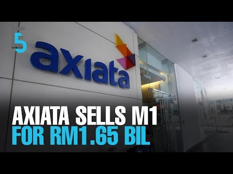 EVENING 5: Axiata sells M1 for RM1.65 bil