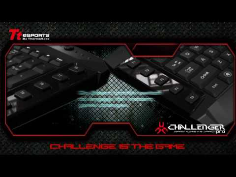 Tt eSPORTS Professional e-sports gaming keyboard – Challenger PRO