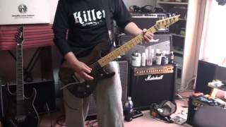 借り物のkillerで弾いてみました。 ギター下げすぎて全然弾けていません...