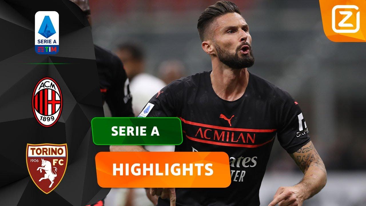 HOEKSCHOP WORDT GEWELDIG BENUT! 💥🇫🇷   Milan vs Torino   Serie A 2021/22   Samenvatting