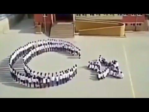 Dünyanın En Güzel 59 saniyesi çocukların Yaptığı muhteşem görüntü