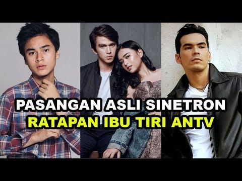 Pasangan Asli Pemain Sinetron RATAPAN IBU TIRI ANTV 2020