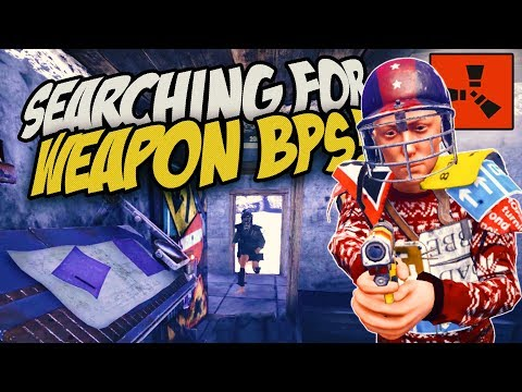 THE SEARCH FOR WEAPON BLUEPRINTS! - Rust