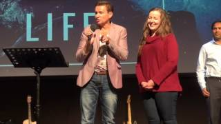 Young lady healed from years of chronic headaches & blurred vision - John Mellor Healing Ministry