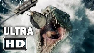 Repeat youtube video [Super HD] JURASSIC WORLD Official Trailer [HD 2K]