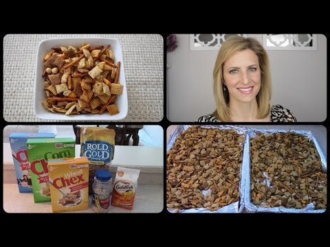 Easy Chex Mix Style Snack Recipe