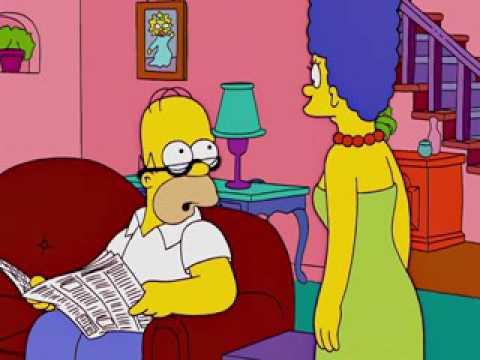 Marge no voy a mentirte - Frases Homero & Cia - YouTube