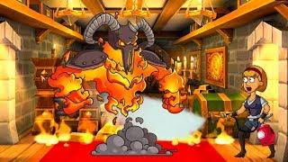 Hustle Castle #3 - Родился сын. Демон на кухне