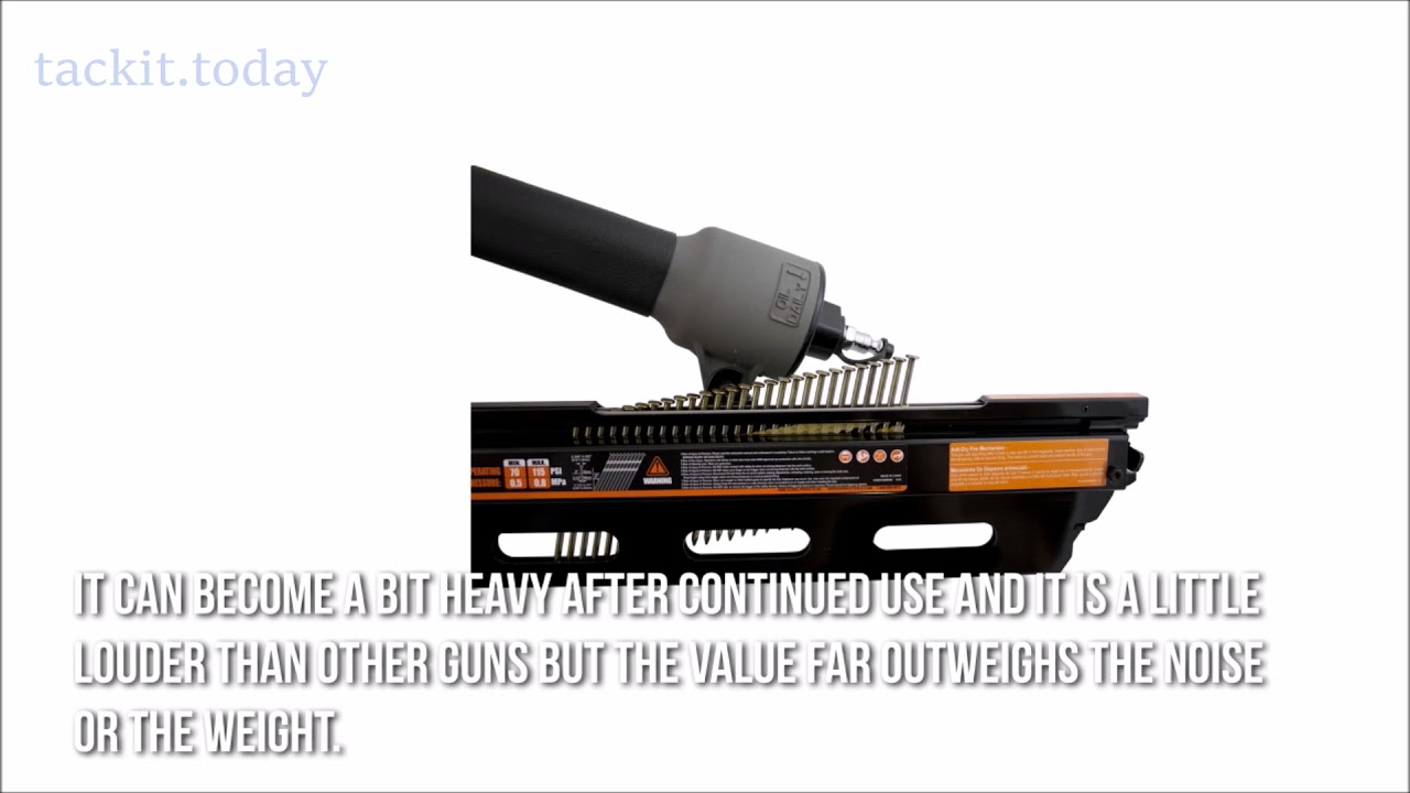 NuMax 21 Degree Framing Nailer Review - YouTube