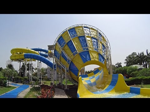 The Funnel Water Slide at Funcity Wunder Water
