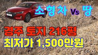 [매각] 땅 216평 소형차 한대값 (경주 토지)
