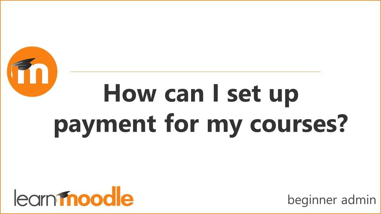 PayPal enrolment - MoodleDocs