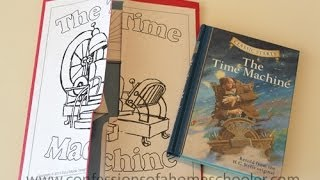 The Time Machine Unit Study & Lapbook Thumbnail