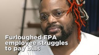 Single father struggling to pay bills during shutdown