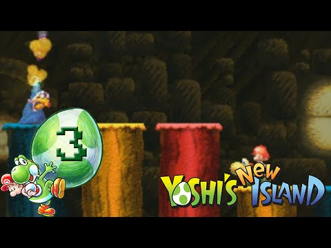 Let's Play Yoshi's New Island - Part 3 - I see You saw