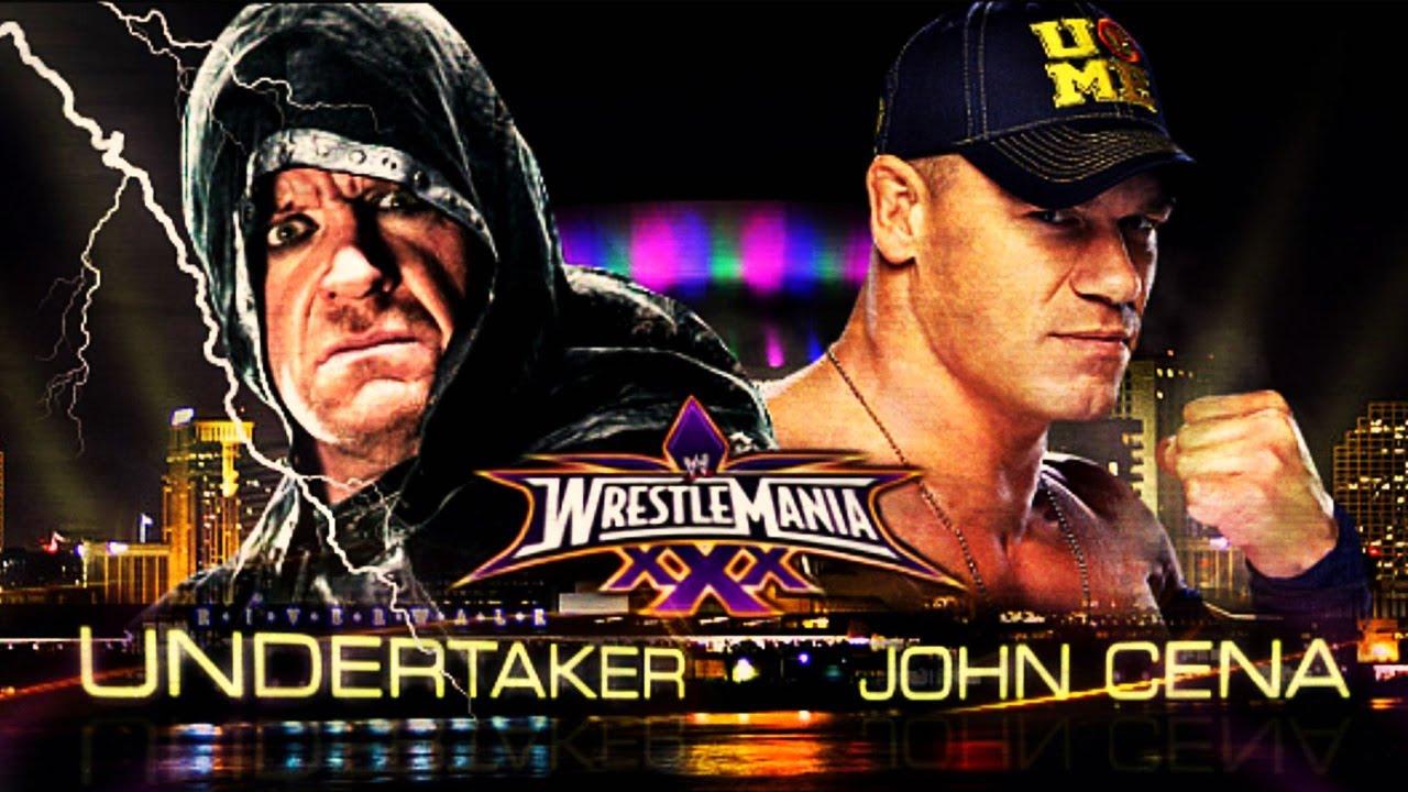 Undertaker Vs John Cena Wrestlemania 30 WrestleMania 30...