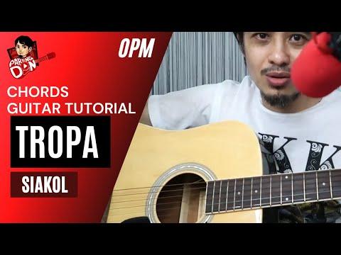 Tropa Chords - Siakol guitar tutorial