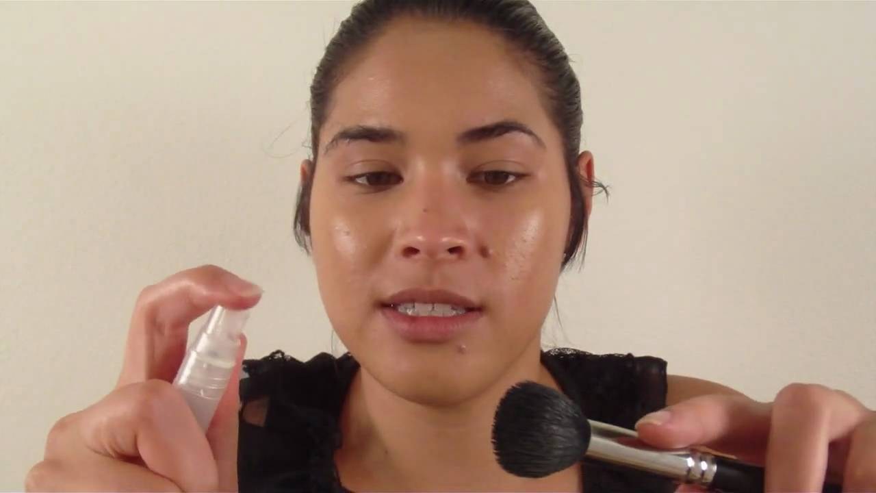 Beauty Basics: How To Apply Foundation With A Brush