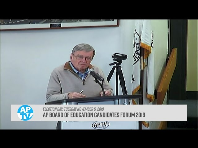 Asbury Park Board of Education Candidates Forum 2019