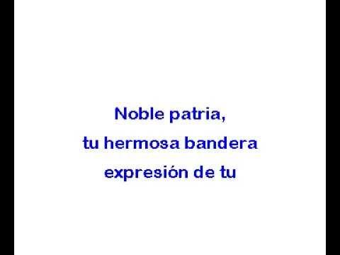 Himno Nacional de Costa Rica   karaoke