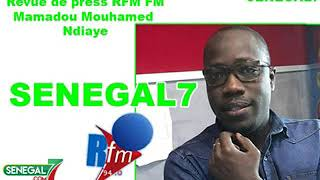 Revue de Presse rfm du Samedi 23 Mars 2019 avec Mamadou Mohameth Ndiaye