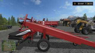 farming simulator 2017 bulk seed and fertilizer loading and unloading updated version