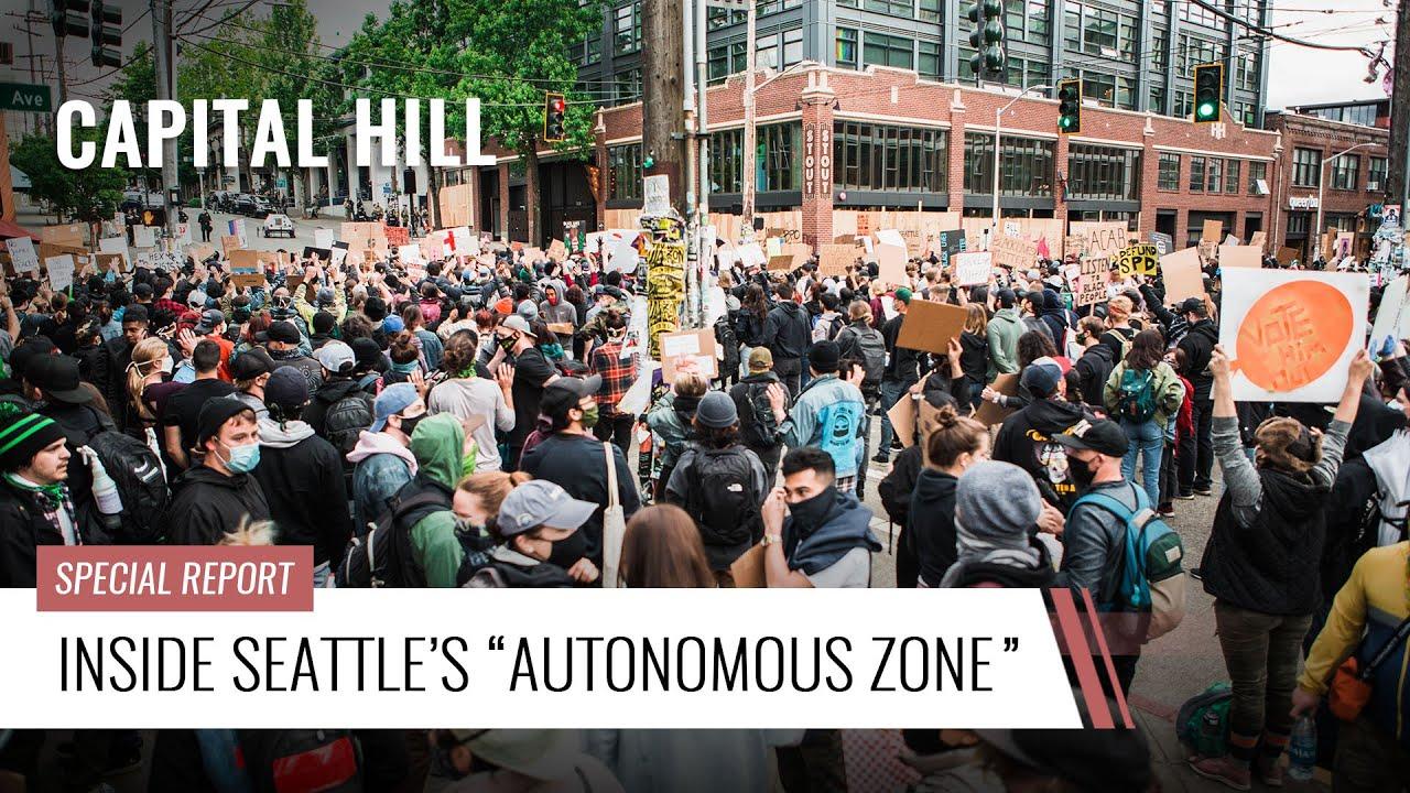 """Inside Seattle's """"Autonomous Zone"""""""