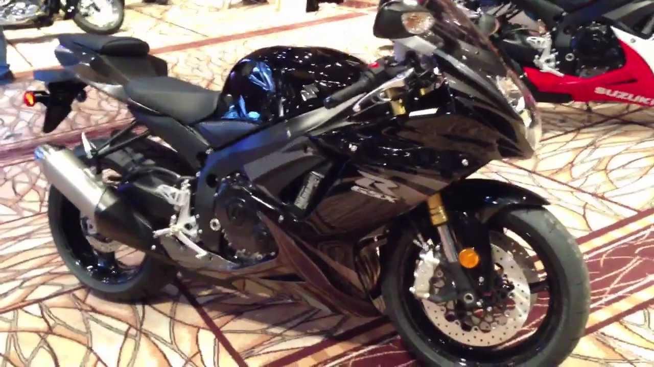 2013 Suzuki GSX-R750 in Black - YouTube