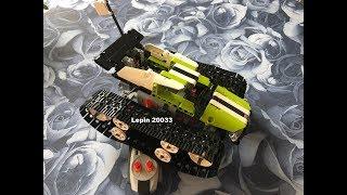Lepin 20033 RC Track Racer Unboxing, Aufbau, Fazit