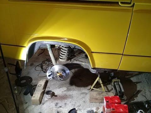VW T3. Восстание. 2 серия. Задние дисковые тормоза.
