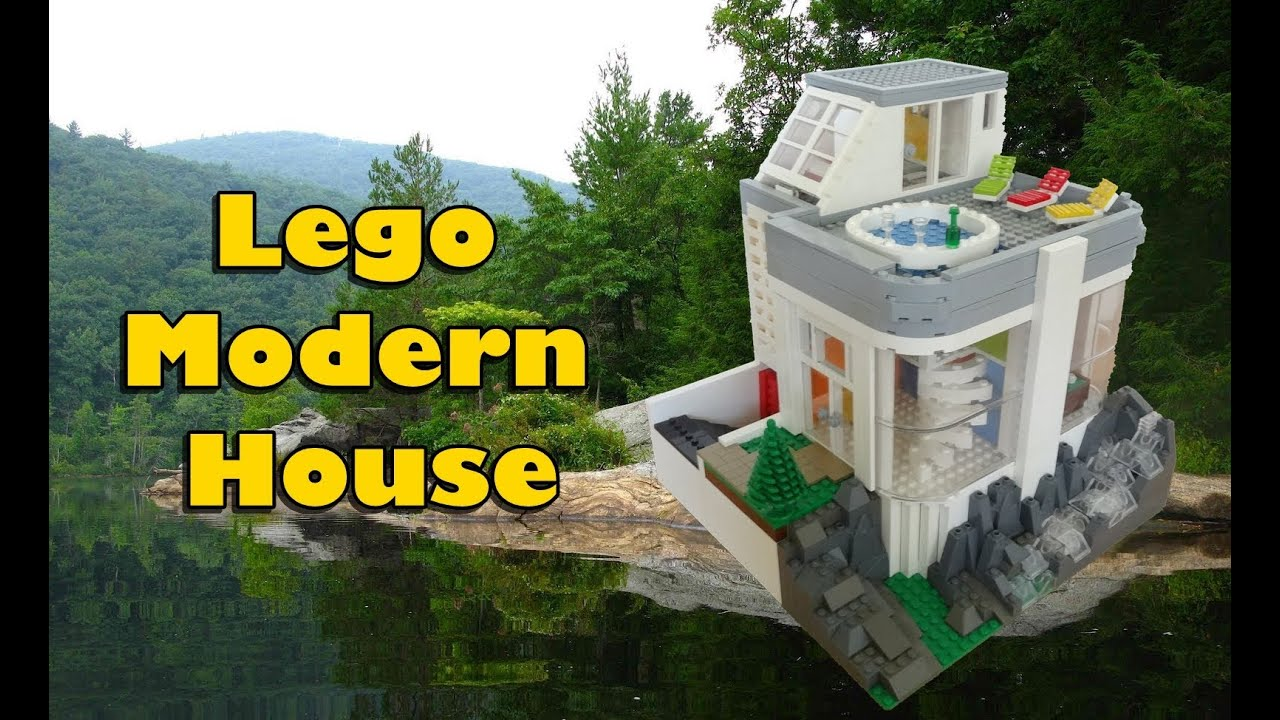 Modern Architecture Lego lego modern house - youtube