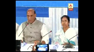 Rajnath Singh-Mamata Banerjee meeting at Nabanna