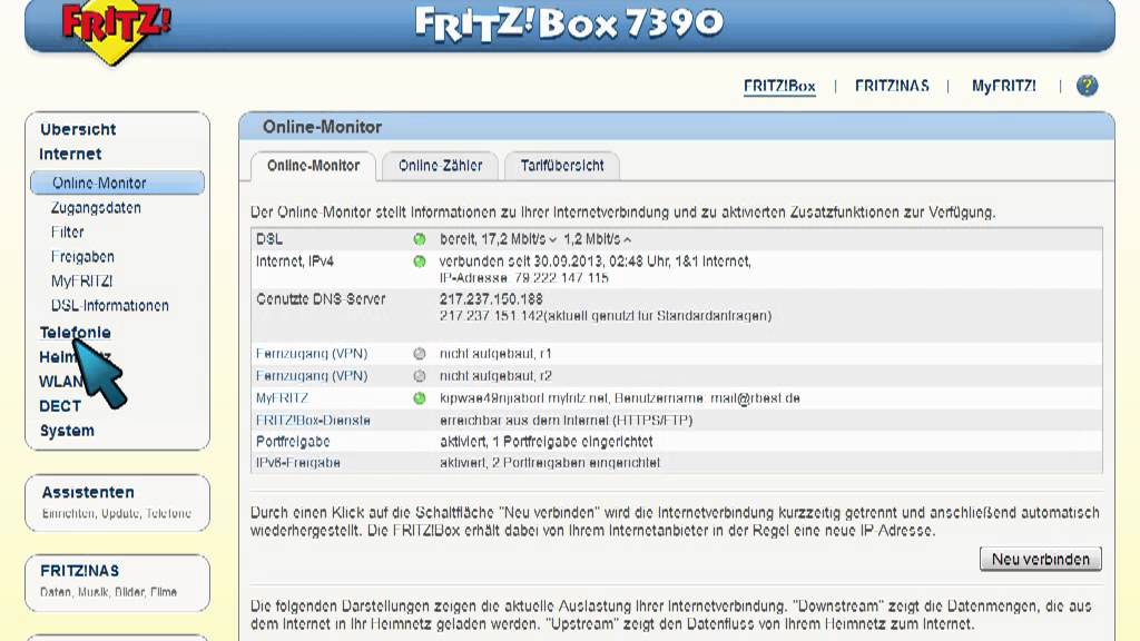 Fritz Box Dsl Blinkt