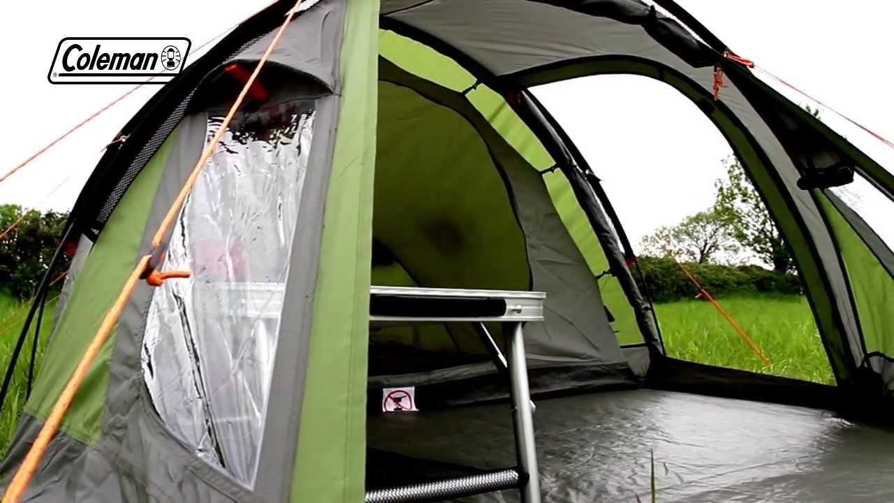 Camping Zelt 8 Mann : Coleman tasman weekend camping tent youtube