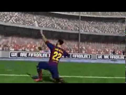 Siêu phẩm sút phạt góc trong Fifa online 3