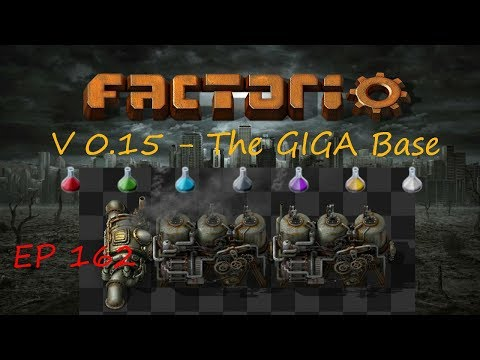 More Trains? Of course we need MORE TRAINS!! - Gigabase S01E162 - Factorio 0.15