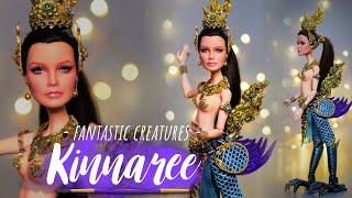 Kinnaree repaint doll ตุ๊กตานางกินรีมโนราห์