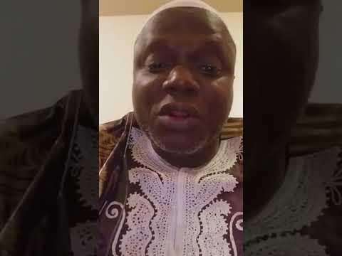 Hadj 2018  Message au président de la république de côte d'Ivoire