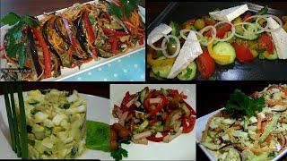 5 супер салатов без МАЙОНЕЗА на праздничный стол, которые нужно приготовить на новый год 2020!